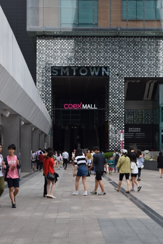 Coex mall! Huge mall, I loved their stationary store. Such cute little korean things.