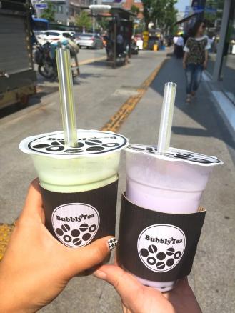 Korea's bubble tea is the best