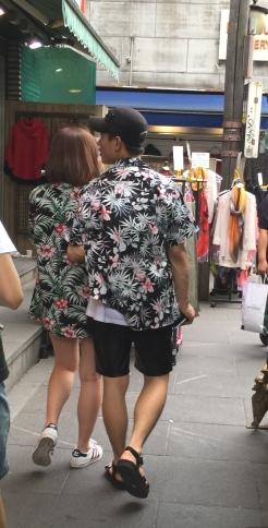 Ah my fav duo, the tropical korean couple